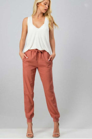 Desert Rose Jogger Pants