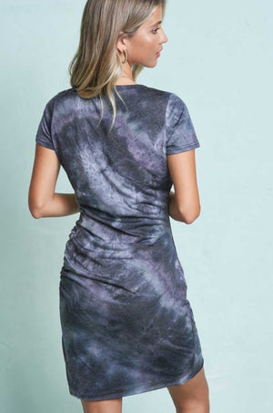Galaxy Tie Dye TShirt Dress