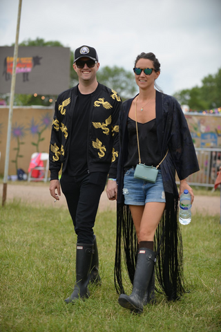 Bohemian fashion at Glastonbury 2016