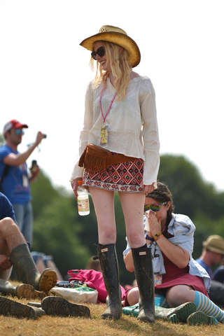 Street style at Glastonbury 2016