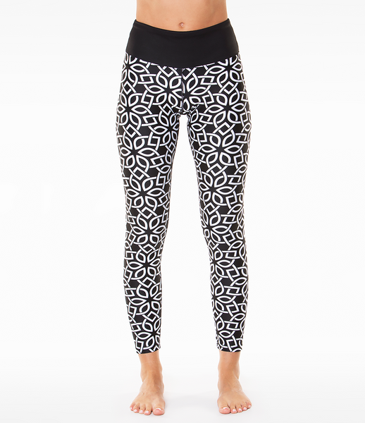 Loznpoz Leggings 'Puzzle Black'