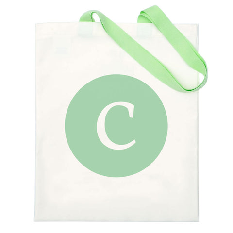 Alphabet Letter Bag - Green