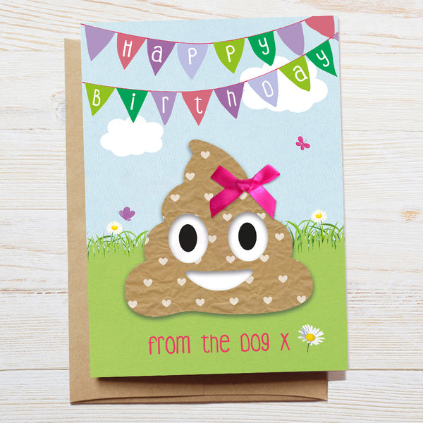 Dog Humour Birthday Card
