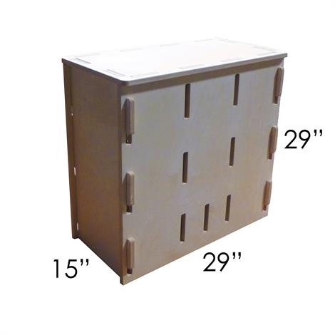 Small Rectangular Pop Up Parkour Box