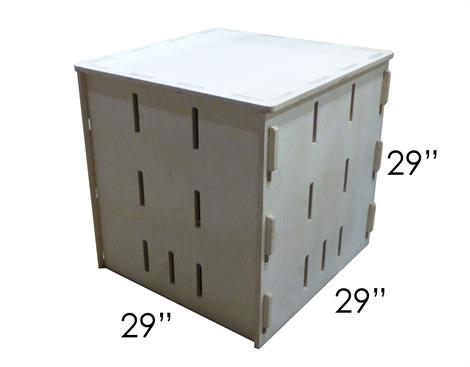 Square Pop Up Parkour Box