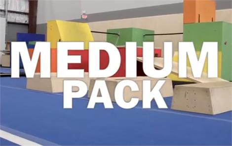 Portable Parkour Medium Pack + Bars Kit