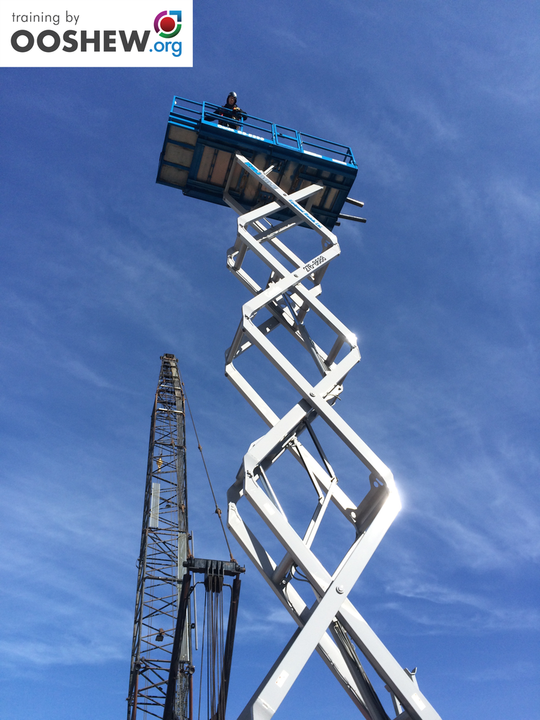 Aerial work platform scissor lift training ooshew aerial work platform scissor lift training xflitez Choice Image