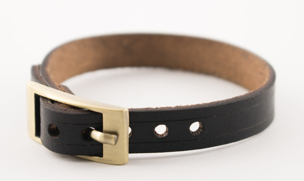 Slim Leather Cuff