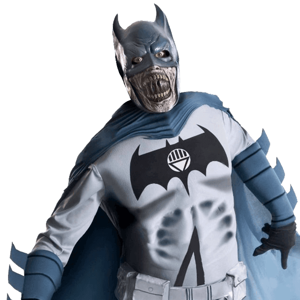 Adult Deluxe Zombie Batman Costume