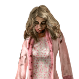 Adult Little Girl Zombie Costume