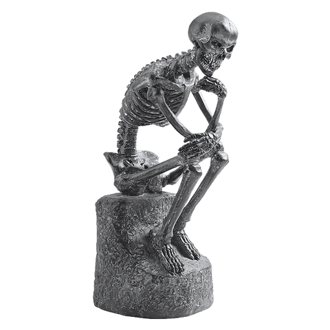 Design Toscano The Skeleton Thinker Statue