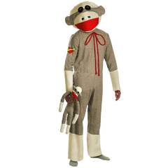 Disguise Costumes - Adult Sock Monkey