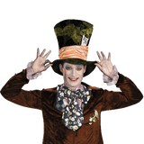 Disguise Costumes Men's Mad Hatter Deluxe