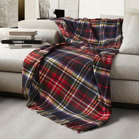 Aberdeen Lambswool Throw