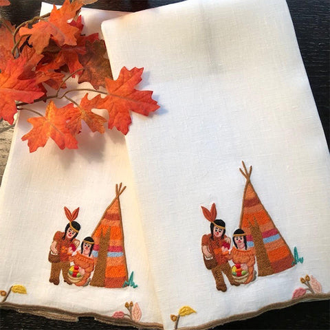 American Indian Guest Towels