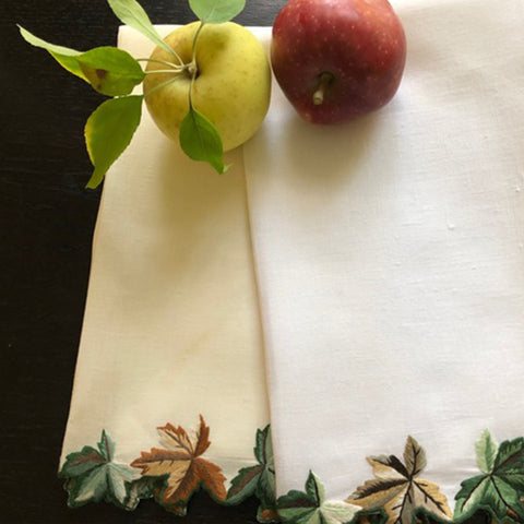Autumn Leaves Guest Towels
