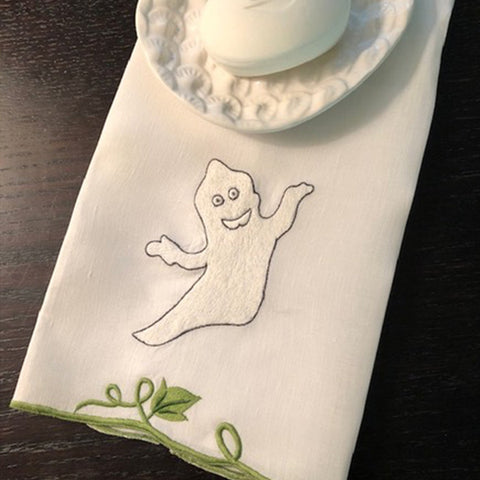Friendly Ghost Guest Towels