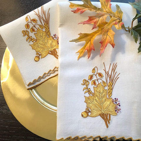 Golden Wheat Guest Towels