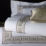 Greek Key Bed Linens