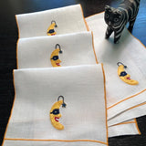 Harlequin Guest Towels and Cocktail Napkins