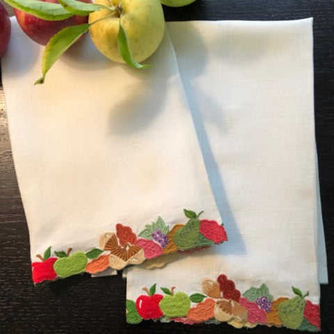 Harvest Fruit Guest Towels