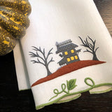 Haunted House Guest Towel