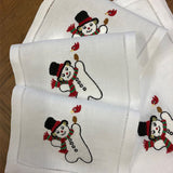 Happy Snowman Cocktail Napkins