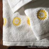 Sunflower Bath Towels