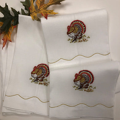 Tom Turkey Guest Towels