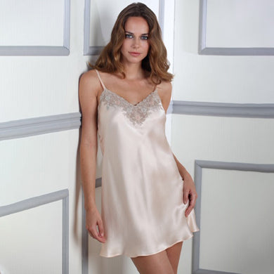 Amelia Silk Night Slip