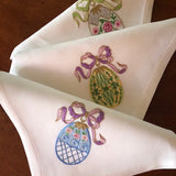 Easter Egg Dinner Napkins - Set of 6