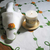 Pumpkin Patch Runner with Matching Napkins