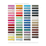 Leron Linens Brendon Tape Color Options