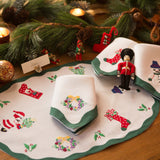 Leron Linens Christmas Time Placemats Napkins