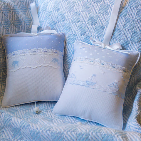 Leron Linens Blue Musical Pillow