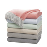 Leron Linens Cashmere Lausanne Throw Detail