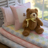 Leron Linens Checkmate Baby Blanket