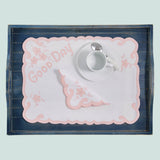 Leron Linens Good Day Breakfast Tray Set