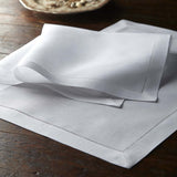 Leron Linens Hemstitch Placemats and Napkins