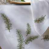 Leron Linens Holiday Branch Table Cloth