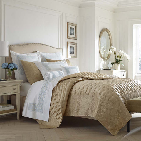 Leron Luxury Linens Dimples & Waves Quilt