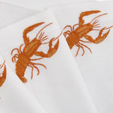 Leron Linens Lobsters Detail