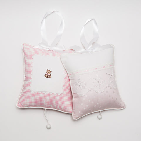 Leron Linens Pink Musical Pillow