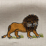 Leron Linens Safari Guest Towel Lion