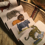 Leron Linens Safari Guest Towels