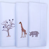 Leron Linens Safari Placemats And Napkins Detail