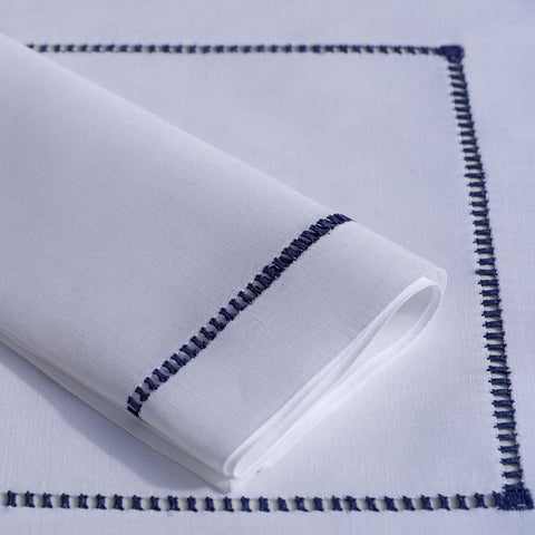 Leron Linens Shield Placemats & Napkins