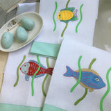 Leron Linens Tropical Fish Guest Towels
