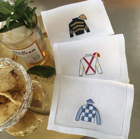 Riders Up! Cocktail Napkins