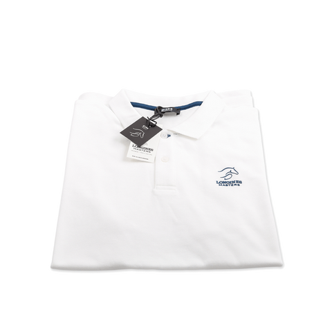 Polo-shirt - Longines Masters Originals - Man/White